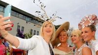 PICS: Third time's the charm for best-dressed Alex at the Galway Races