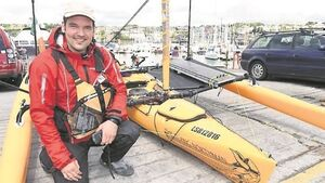 Kinsale kayaker paddles to Germany