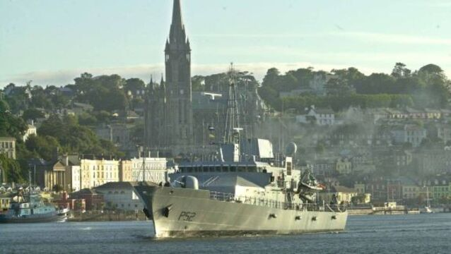 LÉ Niamh crew get break from rescues