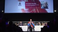 Adventurer Mark Pollock's bravery honoured with degree