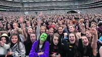 VIDEO: Fans sing loud as Ed Sheeran wows Croker
