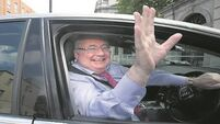 Pat Rabbitte: No need to leave politics 'feet first'