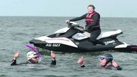 Summer by the sea not so relaxing for charity pair in round Ireland swim