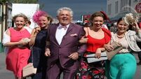 VIDEO: Punters keep their eyes on the prizes at the Galway Races