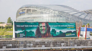 Roy Keane takes Paddy Power to court over 'Braveheart' ad
