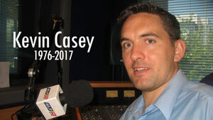 Warm tributes after death of WLR FM sports editor Kevin Casey