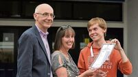 VIDEO: Nine higher-level A1s for Castlebar Leaving Cert student David