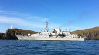 Crew of LÉ Niamh set to return home in October