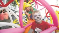 Waterford gets into the Spraoi spirit
