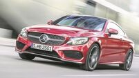 Here's betting Mercedes C-Class will appeal more to the fairer sex