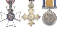 Ernest Shackleton's medals up for auction