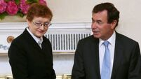 Máire Whelan: Alan Shatter won't say if he supports Enda Kenny