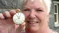 Stolen watch turns up after 20 years