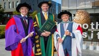 Holocaust survivor Tomi Reichental among honorary doctorates