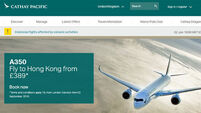 Cathay Pacific Airways shares drop as yields face 'pressure'