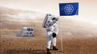 Planet Earth now has a flag for interplanetary relations