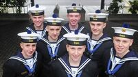 Plain sailing for Naval Service recruits