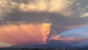 VIDEO: This timelapse of the Chilean volcano erupting is strangely beautiful
