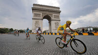 Police fire on car at Tour de France