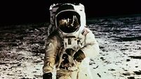 First moon-walk suit deteriorating