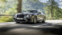 New Bentley Continental Supersports is potent and powerful