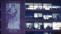 Herstory: Eight Cork women celebrated with portraits projected onto council buildings