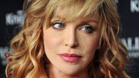 Courtney Love caught up in Uber protests