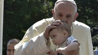 Pope urges Bosnia to put 'barbarity of war' behind it