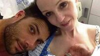 Couple stranded in New York with newborn face six-figure medical bill