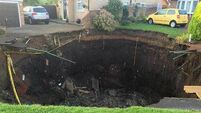Another giant sinkhole opens in UK