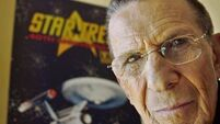 Star Trek's Mr Spock beams up for last time