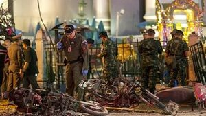 Warrant for bomb suspect in Thailand