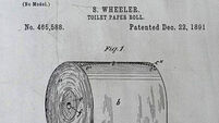 The over/under toilet paper debate has been solved - by a 124-year-old patent