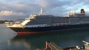 VIDEO: Queen Victoria cruise liner arrives in Cork for Lusitania commemorations