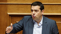 Alexis Tsipras: Bailout the only way out