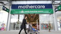 Mothercare's Irish operations back in profit