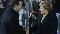 Warm words but little action as Greek and German leaders meet