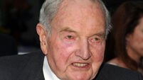 At 100, Rockefeller scion faces questions about world order