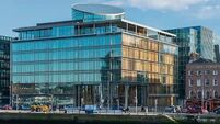 €75m majority stake in docklands office for sale
