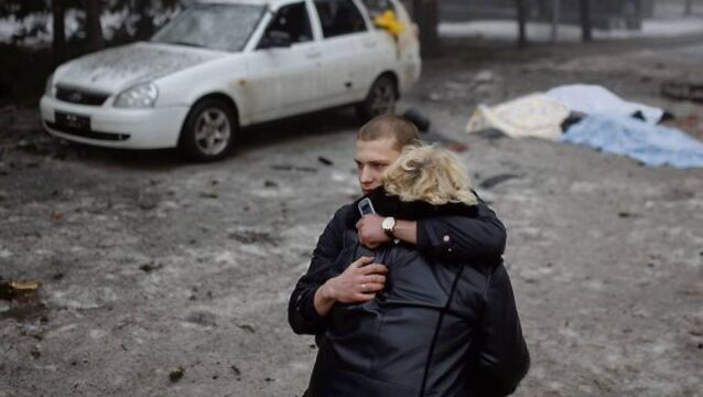 Bandages and blankets won't stop bloodshed in Ukraine