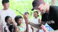 David Beckham: A life without violence should be a birthright
