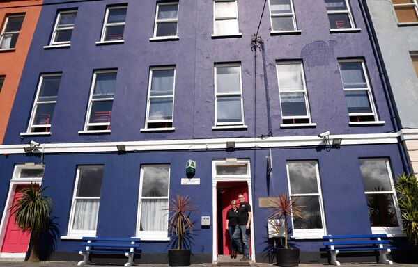Liam and Kaye Maher pictured at Sheila's Hostel, Belgrave Square, Wellington Road, Cork.Sheila's Hostel became the official An Óige hostel in Cork following the closure of the existing hostel on the Western Road on Thursday, April 7th last.(Pic: Siobhan Russell)