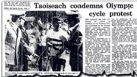 When republicans got on their on bikes for a united Ireland