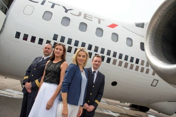 The launch of CityJet at Cork Airport