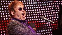 Elton John on song in his anger about 'designer' baby comments