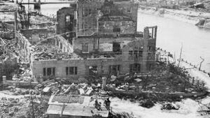 Devastating destruction - Atomic bombings