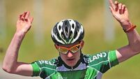 Eddie Dunbar on course for cycle of success