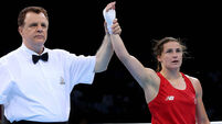 Katie Taylor back on big stage with unanimous win