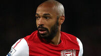 Thierry Henry can still pull off the old fake-shoot-pass trick