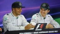 Lewis Hamilton and Nico Rosberg shrug off health issues